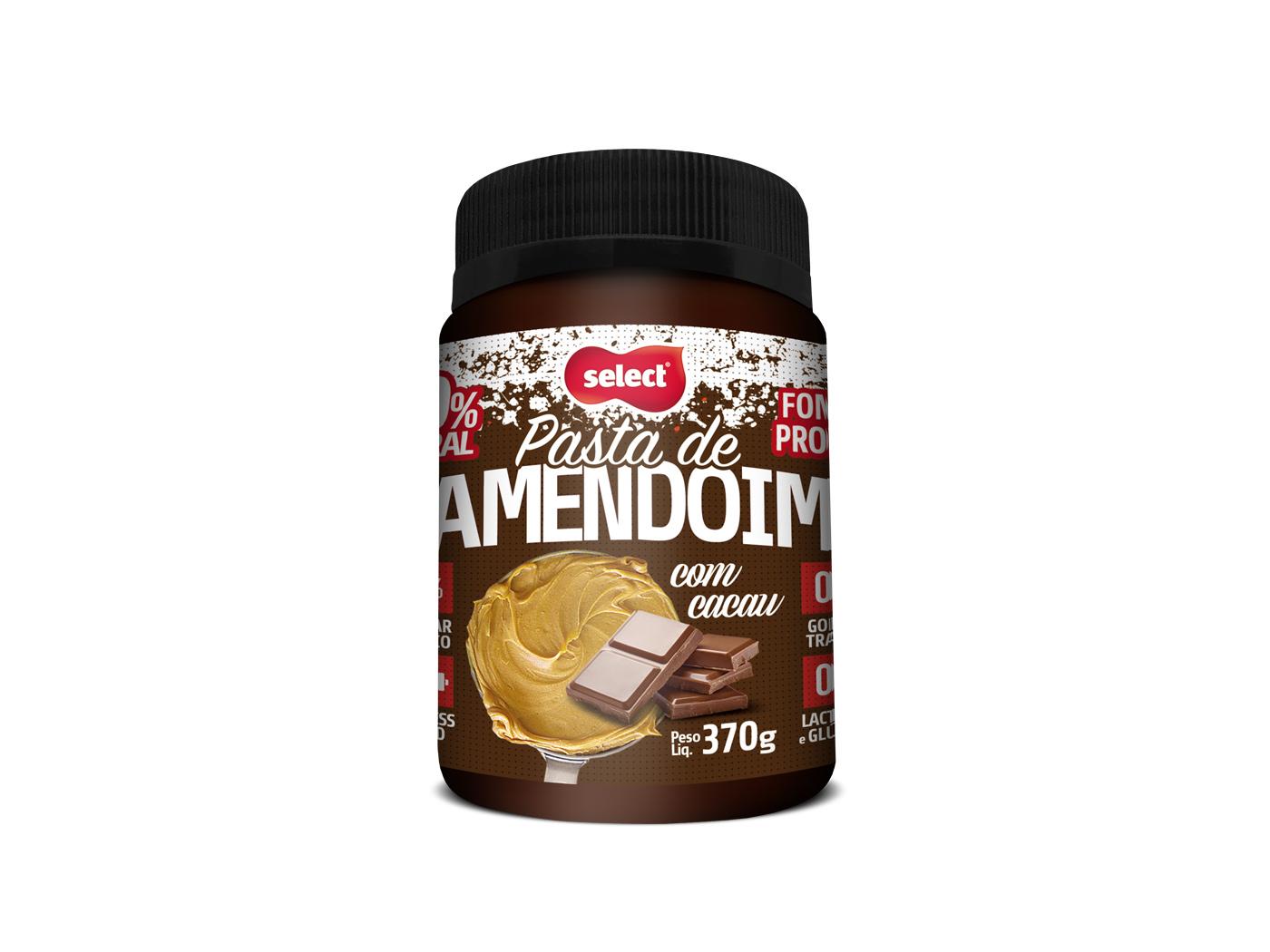 pasta de amendoim com cacau select