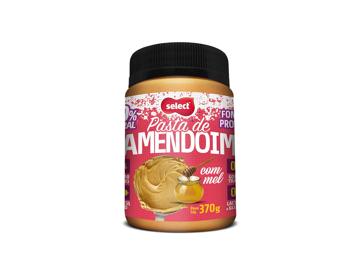 pasta integral de amendoim mel