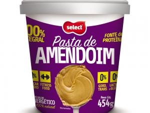 Pasta de Amendoim Integral 454g