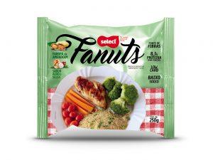 Fanuts – Farofa de Amendoim sabor Alho e Salsa